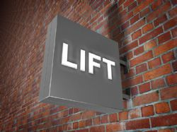 LIFT Double Sided Lightbox